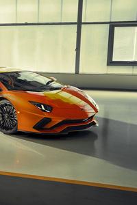 750x1334 2019 Lamborghini Aventador S Front