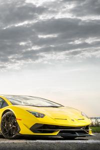 2019 Lamborghini Aventador SVJ Front