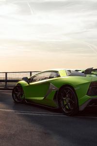 2019 Lamborghini Aventardor SVJ 4k