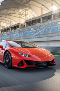 750x1334 2019 Lamborghini Huracan EVO 4k