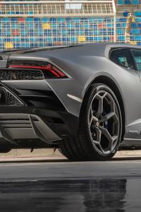 2019 Lamborghini Huracan Evo Rear