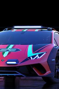 800x1280 2019 Lamborghini Huracan Sterrato Concept 5k