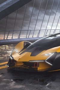 1440x2960 2019 Lamborghini Terzo Millennio 4k