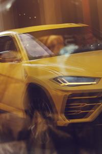 240x320 2019 Lamborghini Urus 4k