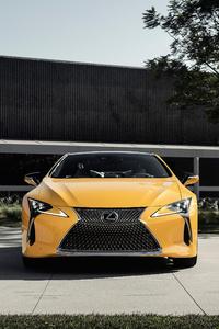 2019 Lexus LC 500 Inspiration Concept Front