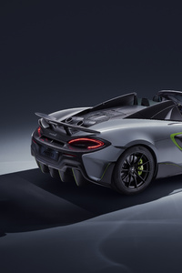 2019 McLaren 600LT Spider Rear View