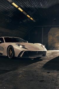 2019 Novitec Ferrari 812 Superfast N Largo White