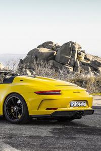 2019 Porsche 911 Speedster 4k