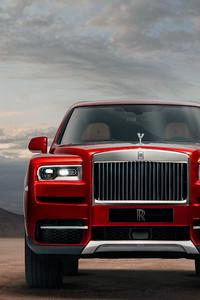2019 Rolls Royce SUV Cullinan