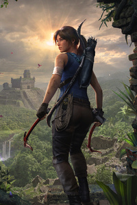 320x568 2019 Shadow Of The Tomb Raider Lara Croft 4k