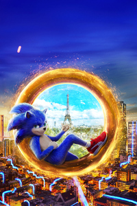 2019 Sonic The Hedgehog 4k