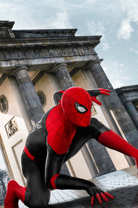 2019 Spider Man Far From Home Movie Poster