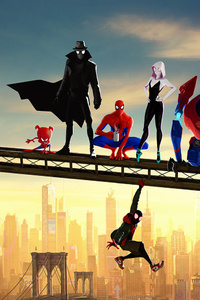 640x1136 2019 SpiderMan Into The Spider Verse Movie