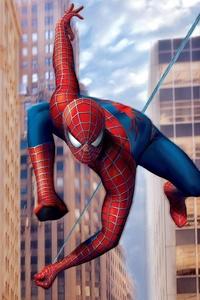 2160x3840 2019 Spiderman New York