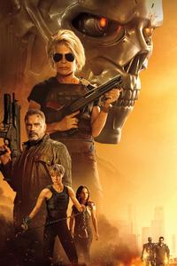 240x400 2019 Terminator Dark Fate 4k