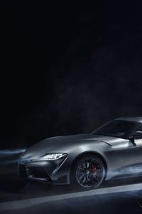 1125x2436 2019 Toyota GR Supra GT4 Concept 10k