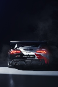 2019 Toyota GR Supra GT4 Concept Rear