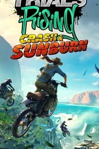 320x480 2019 Trials Rising Crash And Sunburn 8k