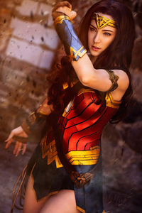 1080x2160 2019 Wonder Woman 4k Cosplay