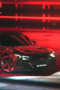 480x854 2020 Audi Etron Gt Automotive Rendering 4k