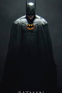640x960 2020 Batman Artwork 4k