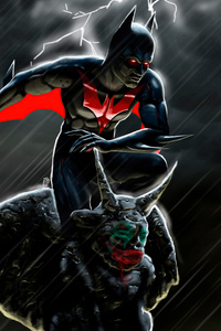 480x800 2020 Batman Beyond 4k