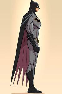1440x2560 2020 Batman Minimalism 4k