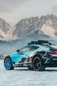 2020 Bentley Continental Gt Ice Race 8k