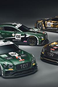 2020 Bentley Continentals GT3 4k