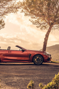 1080x2280 2020 BMW M8 Competition Cabrio 5k