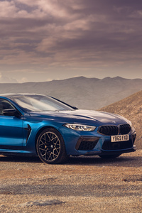 2020 BMW M8 Competition Coupe Side View 5k