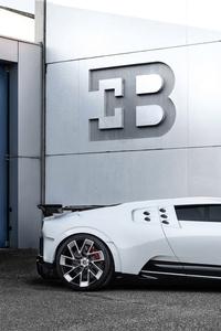 480x800 2020 Bugatti Centodieci Side View