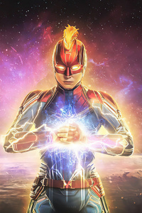 360x640 2020 Captain Marvel 4k