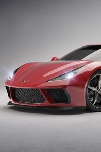 1440x2960 2020 Chevrolet Corvette C8