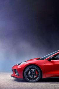 1080x2160 2020 Chevrolet Corvette Stingray C8 New
