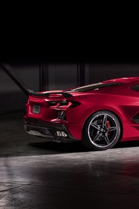 2020 Chevrolet Corvette Stingray C8 Rear New