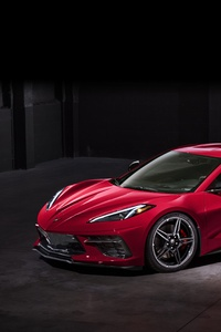 1080x2160 2020 Chevrolet Corvette Stingray C8