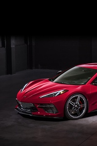 1440x2560 2020 Chevry Corvette Stingray C8 5k