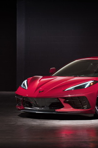 1080x2160 2020 Chevy Corvette Stingray C8 New
