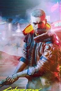 480x854 2020 Cyberpunk 2077 4k
