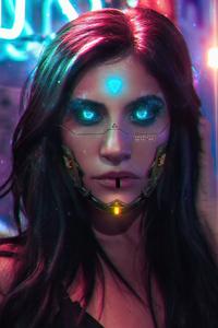 240x320 2020 Cyberpunk 2077 Cosplay
