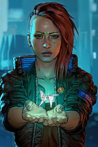 720x1280 2020 Cyberpunk 2077