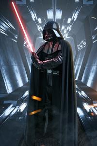 1080x2280 2020 Darth Vader 4k