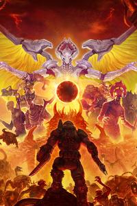 1440x2960 2020 Doom Eternal 5k
