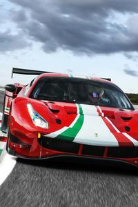 1440x2560 2020 Ferrari 488 GT3 Evo 5k