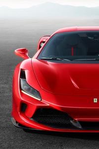 1080x2160 2020 Ferrari F8 Tributo 4k