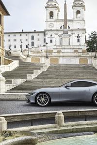 640x1136 2020 Ferrari Roma 4k