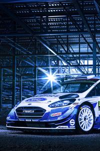 320x568 2020 Ford Fiesta WRC