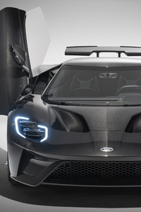 320x568 2020 Ford Gt Liquid Carbon 8k