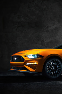 2020 Ford Mustang 4k